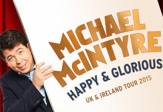 Michael McIntyre - 2015 Tour