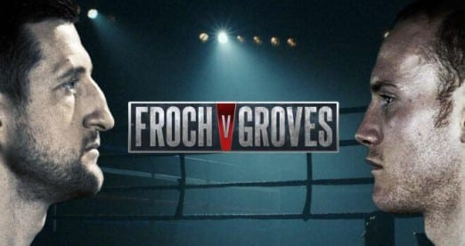 Froch Vs Groves - Tickets
