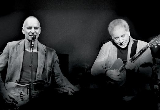 Sting + Paul Simon 2015 Tour